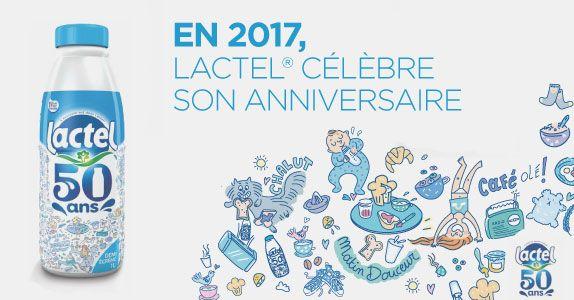 Lactel célèbre ses 50 ans de saga publicitaire