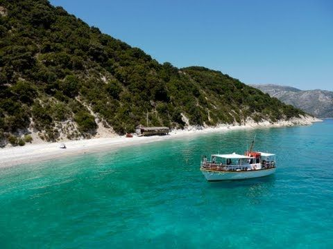Kefalonia, Ithaka, Skorpios - Boat Trip, Greece - YouTube