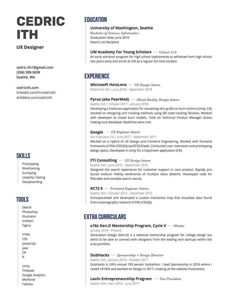 Resume by Cedric Ith Cv design creative, Resume