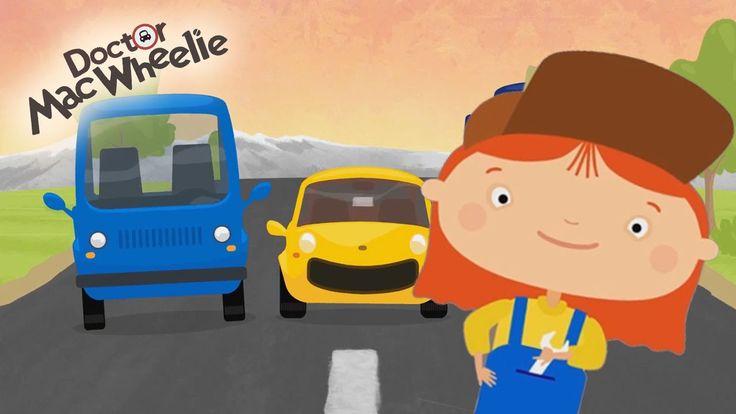 Cartoni Animati per bambini: La Dottoressa Mac Wheelie e il picnic