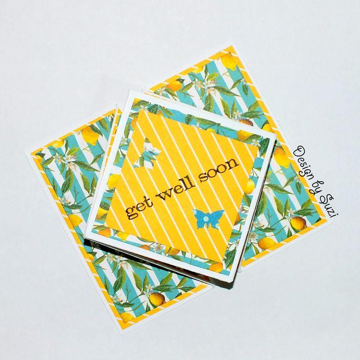 Get Well Soon (Mini Diamond Card)