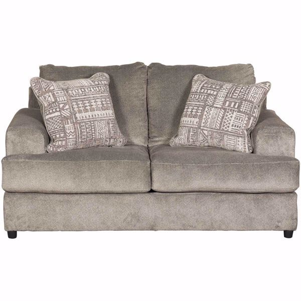 Soletren Loveseat Love Seat Ashley Furniture Large Accent Pillows