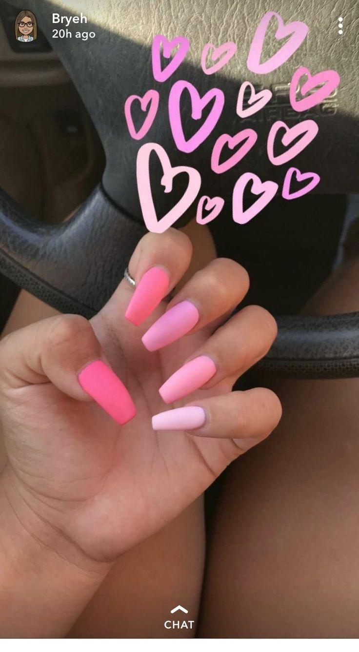 Popular  Summer Acrylic Nail Designs