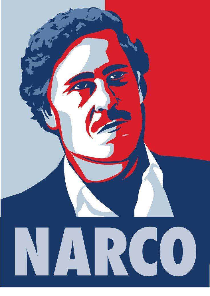 Narco Pablo Escobar Design by Memeingful