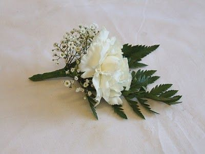 RJ's Florist: White rose wedding flowers