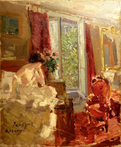 Morning. Paris Korovin, 1911