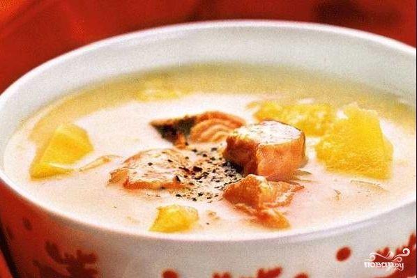 Суп из консервированной горошка