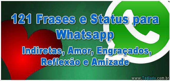 17 Melhores Ideias Sobre Status Para Whatsapp No Pinterest