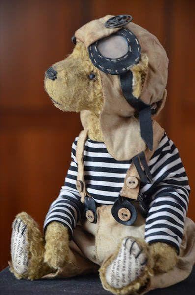 teddy bear Henry By Evgeniya Sidorenko - Bear Pile
