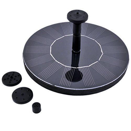 Ruichenxi ® Pompe Solaire Pompe à eau solaire Panneau Solaire Fontaine pour bassin ou jardin pome avec panneau solaire monocristallin et…