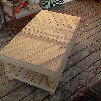 37+ Amazing DIY Pallet Tables - Page 5 of 5 - trendsandideas.com