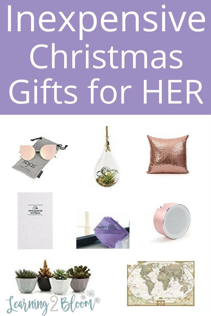 Inexpensive Christmas Gift Ideas for Women | Frugal Christmas Ideas ...