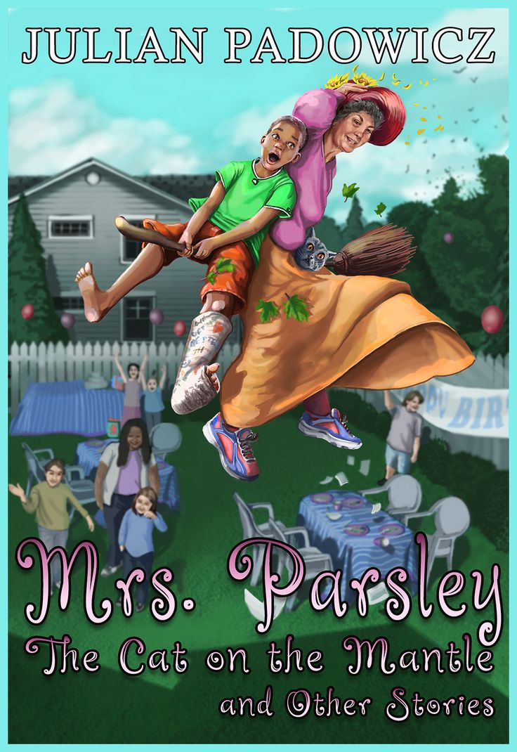 Mrs. Parsley and the Cat on the Mantle by Julian Padowicz