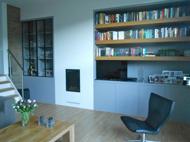 Wandkast op maat na STIJLIDEE Interieuradvies en Styling