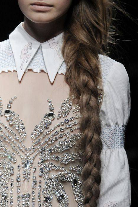 Collars and crystals.