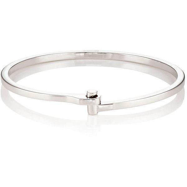 Miansai Men's Nyx Cuff Bracelet (675 BRL) ❤ liked on Polyvore featuring men's fashion, men's jewelry, men's bracelets, silver, mens silver cuff bracelet, mens watches jewelry, mens cuff bangle, mens engraved bracelets and mens bracelets