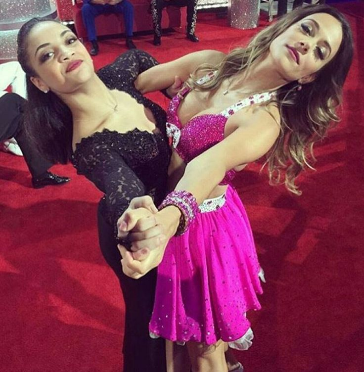 Laurie and Jana DWTS