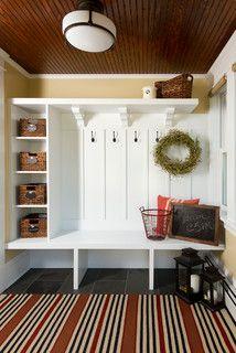 Charming Minneapolis Bungalow - craftsman - entry - minneapolis - by Fluidesign Studio
