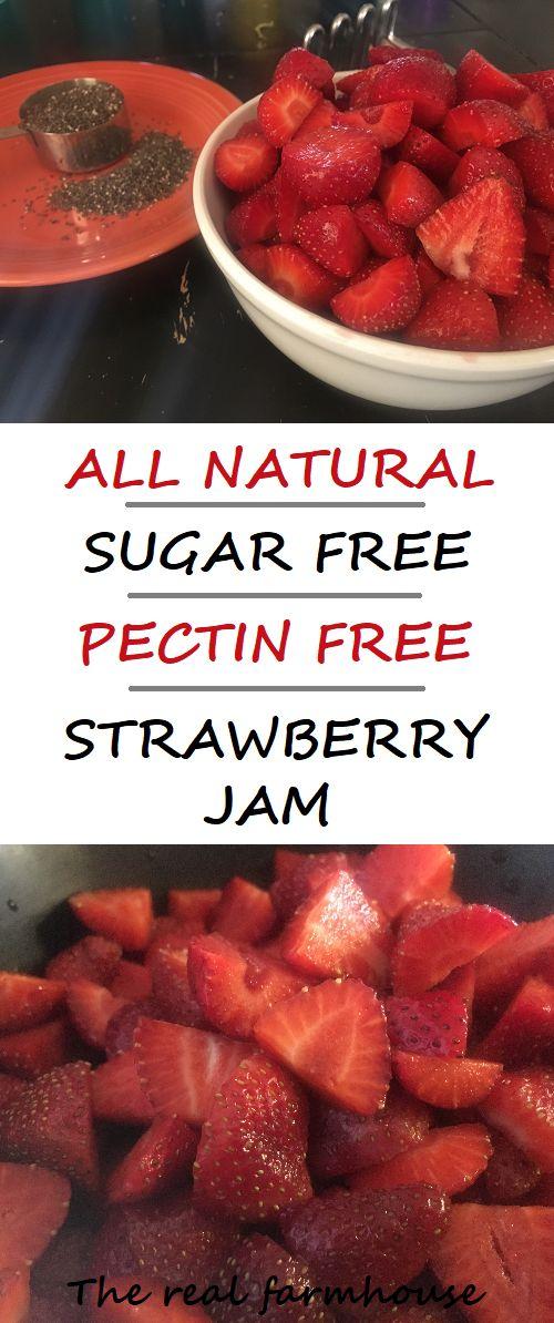 Strawberry Jam with no pectin