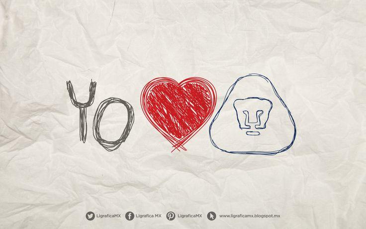 Yo Amo a #PumasUNAM • 100214CTG(1) LigraficaMX
