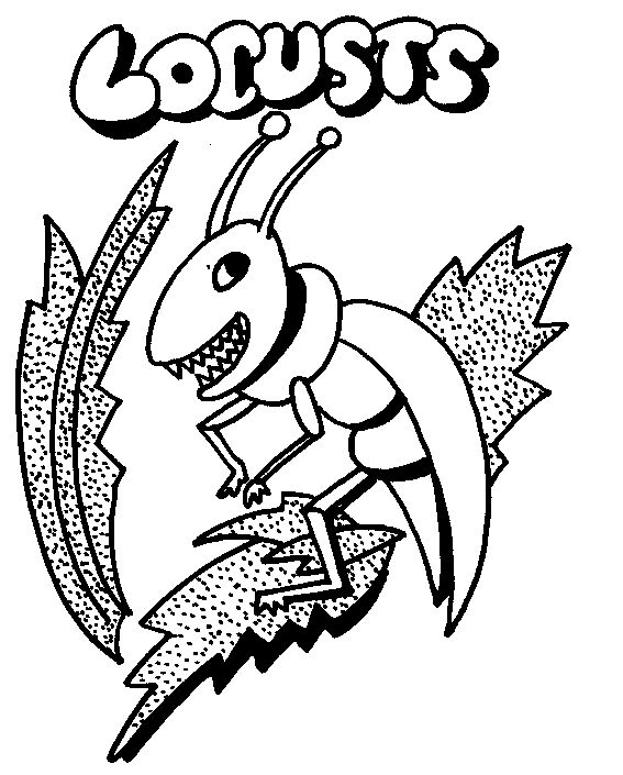 passover plagues coloring pages - photo#25