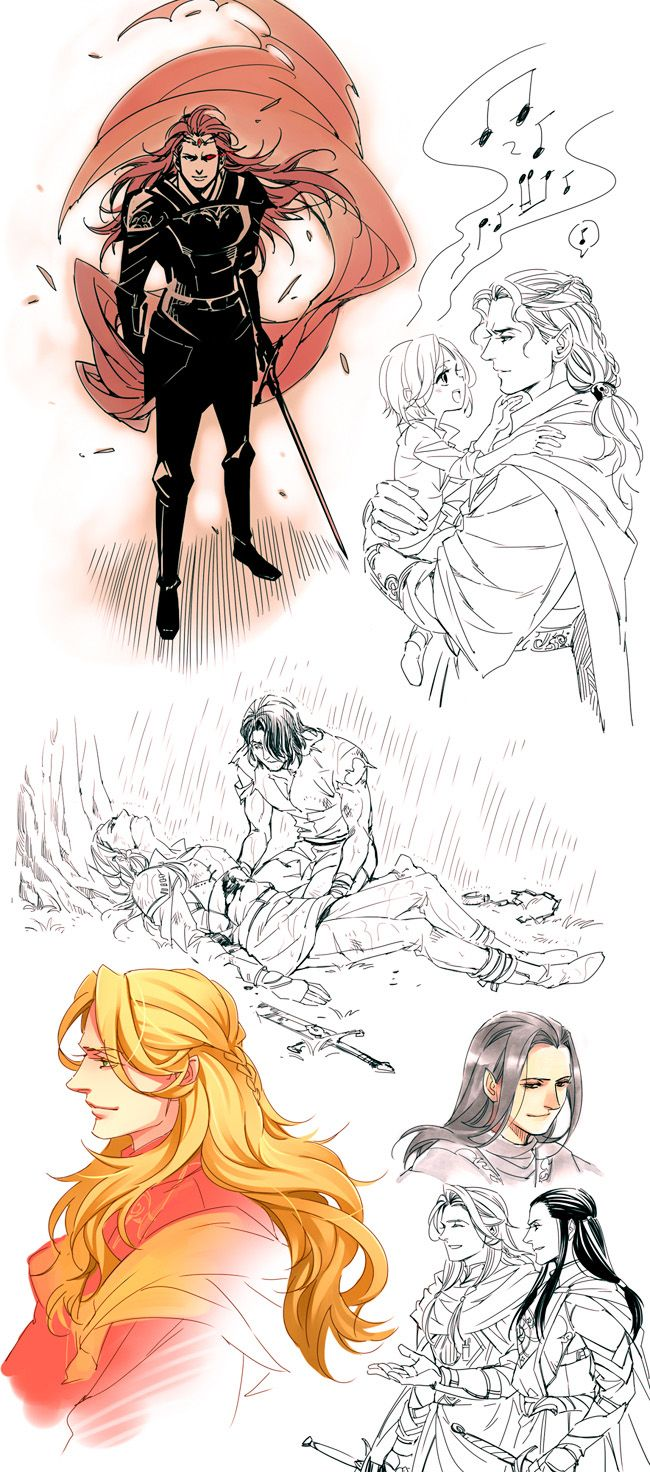 Silmarillion sketches by Athew.deviantart.com on @deviantART
