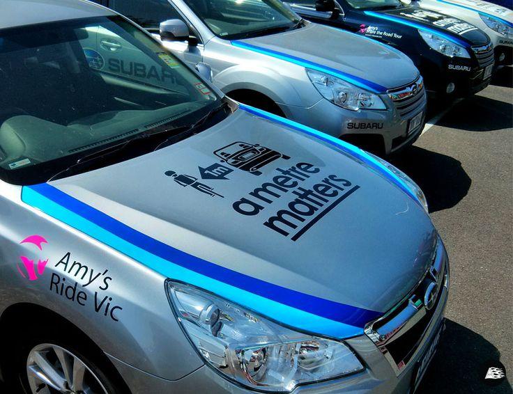 Sponsor Decals, Subaru, Amy Gillett, Herald Sun Tour, Vehicle Decals