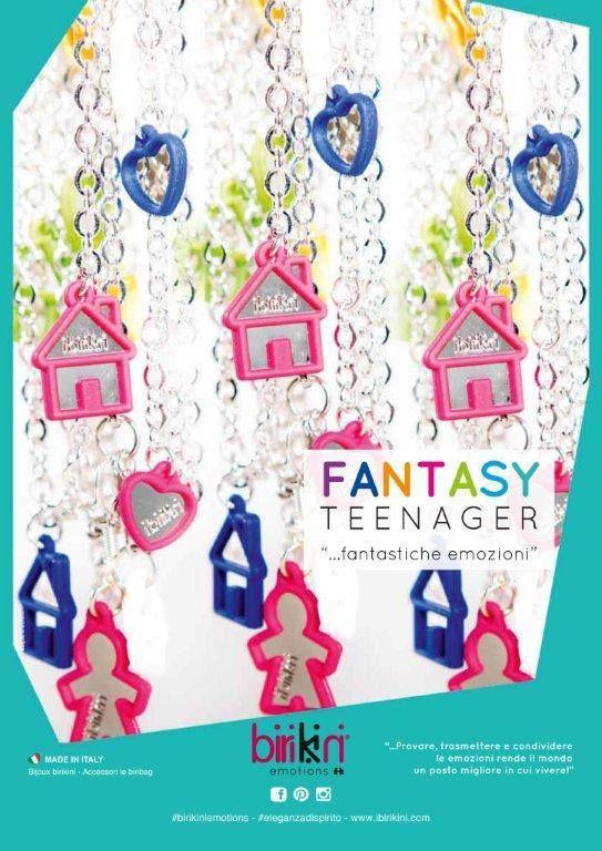 #birikini Fantasy Teenager: #bracciale, #collane e #orecchini con charms. FANTASTICHE #EMOZIONI. #birikiniemotions