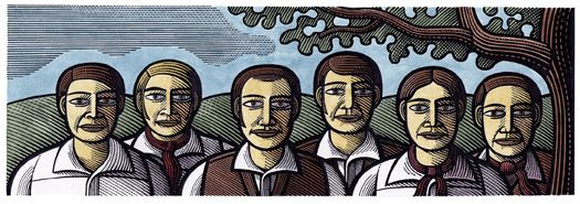 March 18, 1834 – Six farm labourers from Tolpuddle, Dorset, England are sentenced to be transported to Australia for forming a trade union. They later become known as the Tolpuddle Martyrs.