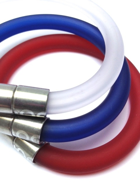 Click Bangles - Especially for Eurovision weekend.  Colours for all countries!