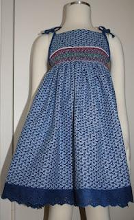 Indigo Shweshwe dress