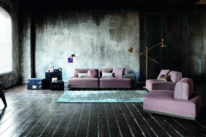Design 2015 Ditre Italia - Sofa Sanders - Products - Design