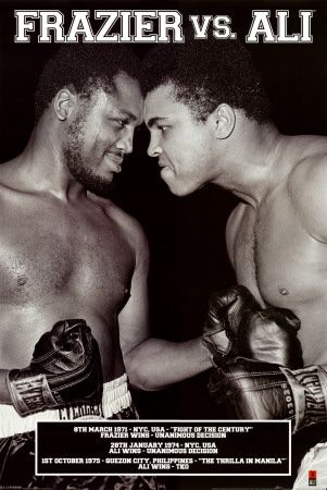 - Muhammad Ali vs Joe Frazier -