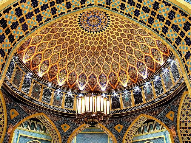Islamic Art in IbnBatuta Mall, Dubai