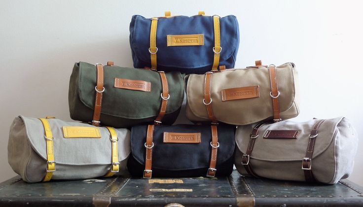 Classic Vintage Style Bicycle Bag (4 colors available). $96.00, via Etsy.    http://www.etsy.com/shop/snootsie?ref=seller_info