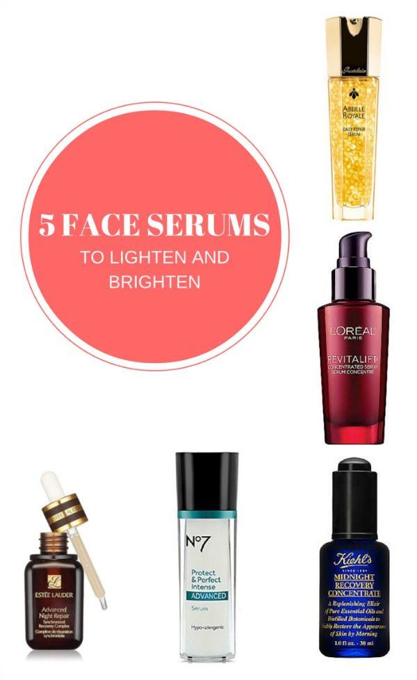 Best Face Serums to Lighten and Brighten