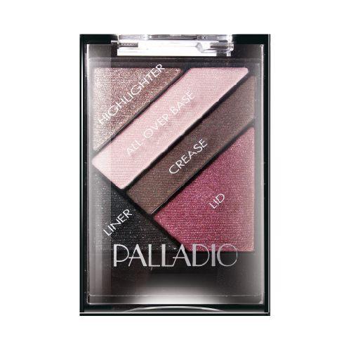 Palladio Palladio Sombras Silk Fx Burlesque Espectacular sombra que brinda a tu mirada un brillo unico y explosivo, en combinacion de  4 hermosos tonos y un delineador de ojos que profundiza tu mirada.