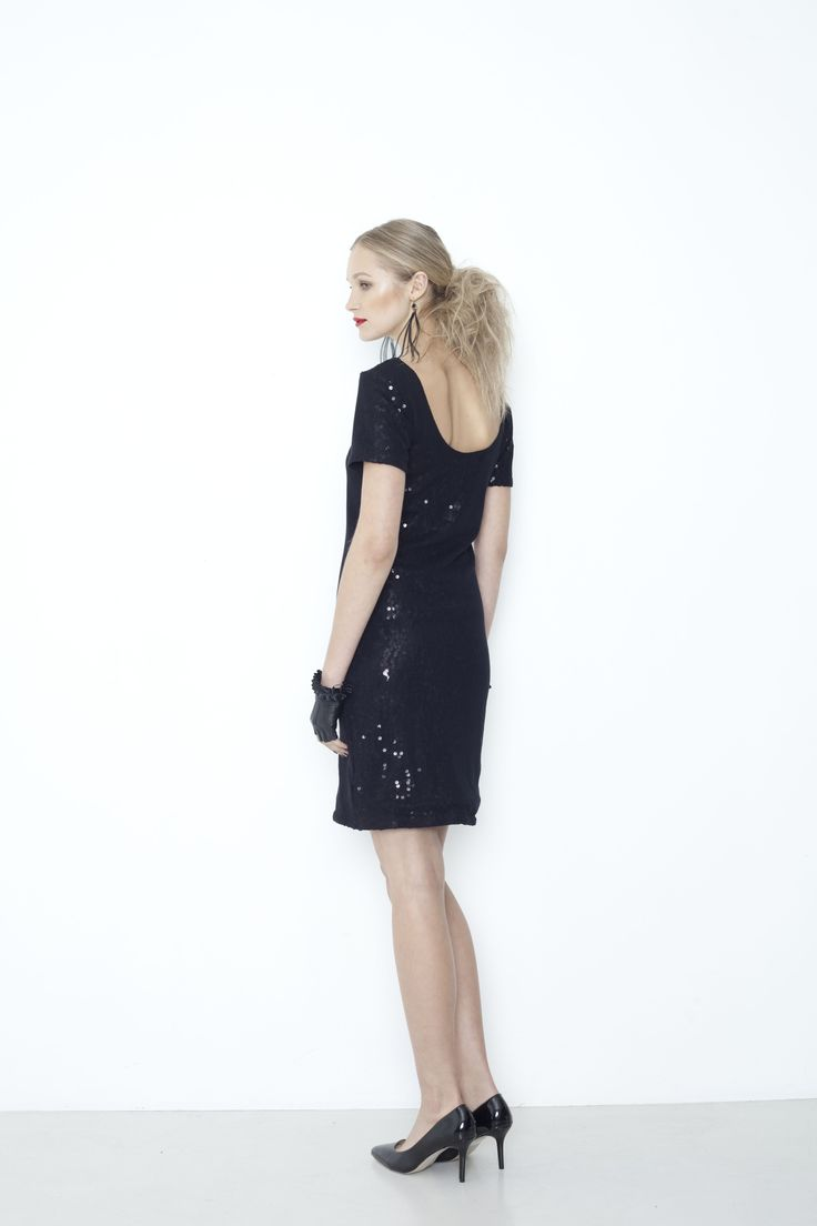 Photograph Dress - black