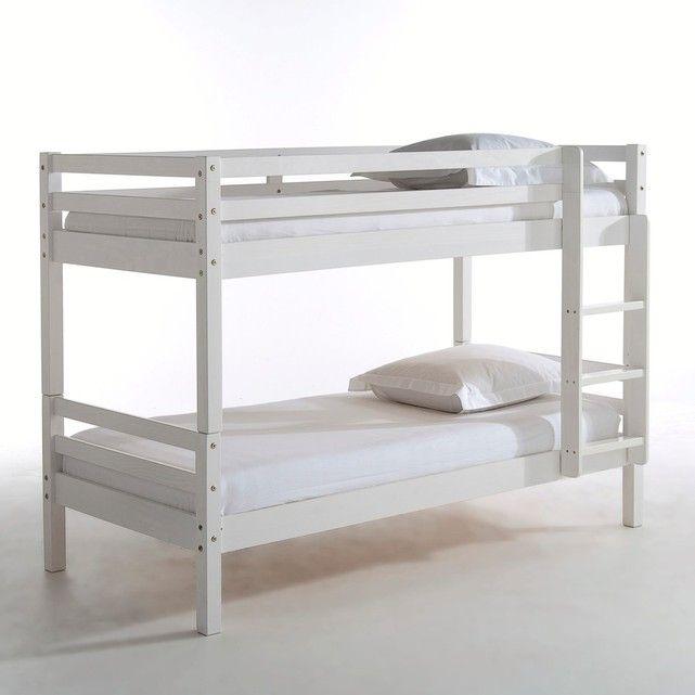 Camas-beliche, camas individuais, pinho maciço, Maysar