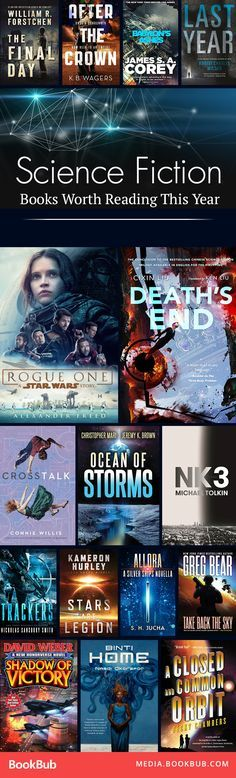 Calling all sci-fi lovers! Some of the biggest science fiction books you should be reading in 2017.
