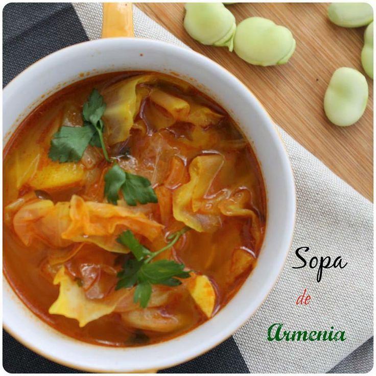 No dejes pasar la oportunidad de probar esta estupenda sopa cuya receta comparten desde el blog Mi Adorable Cocina.
