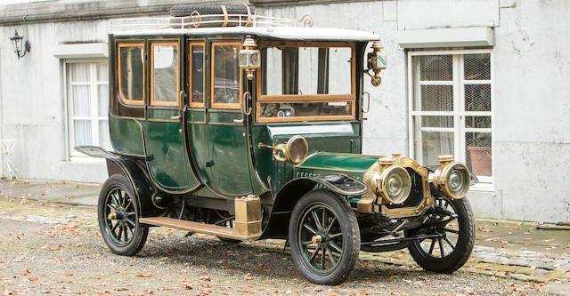 De Dion-Bouton Type AX 15 HP double berline 1908