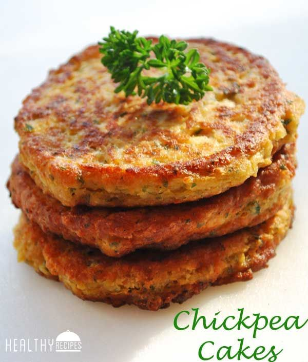 Chickpea Cakes | Healthy Recipes use egg substitute