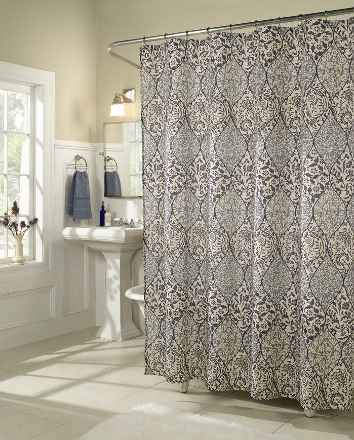 Istanbul Microfiber Shower Curtain