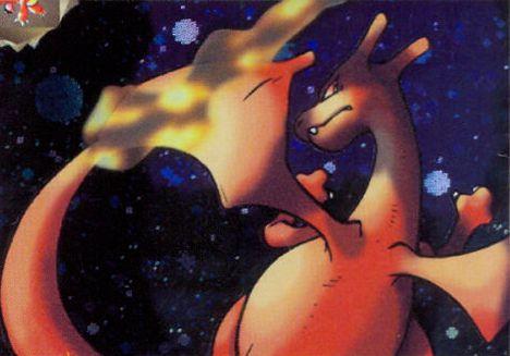 "illus. Ken Sugimori ""Dark Charizard"" from Team Rocket"