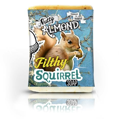 Filthy Farmgirl — Filthy Squirrel - Nutty Almond