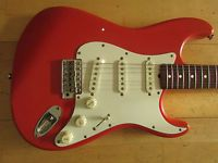 Tokai Springy Sound Stratocaster. Made in Japan early 80's. USA Fender pickups.