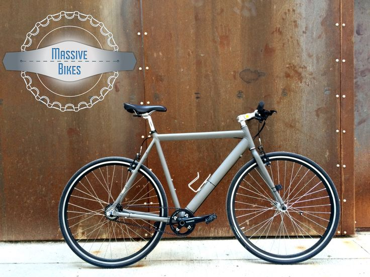 MassiveBikes converted Gates Carbon Drive City Bike w Nexus 8