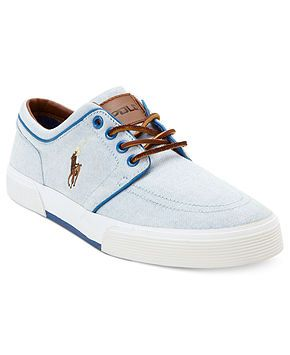 Polo Ralph Lauren Shoes, Faxon Low Sneakers - Mens Shoes - Macy's