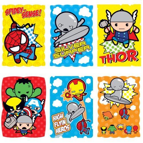 A veteran pseudo-fictioneer. - Marvel Kawaii Art Collection Stickers